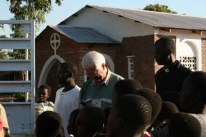 George Ocehse sharing the Gospel